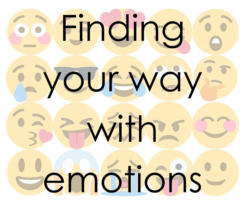 Featured Image with different emotion faces and text